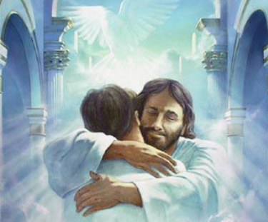 Jesus welcoming home