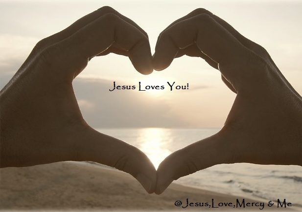 Jesus,Love, Mercy  and Me