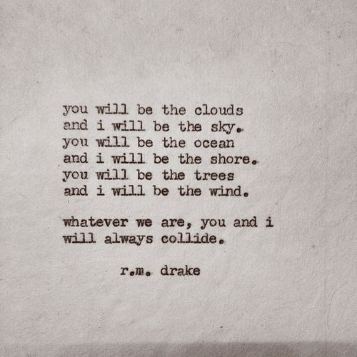 RM DRAKE LOVE QUOTE