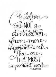 children most important work