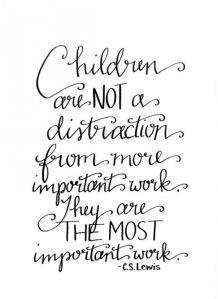 children most important work